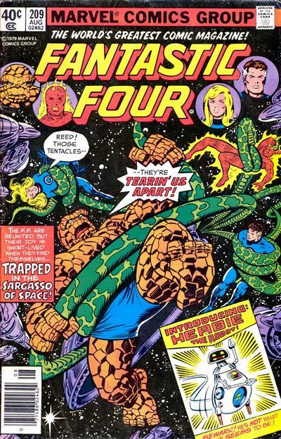 Fantastic Four Vol. 1 #209