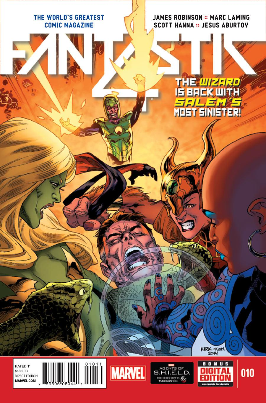 Fantastic Four Vol. 5 #10