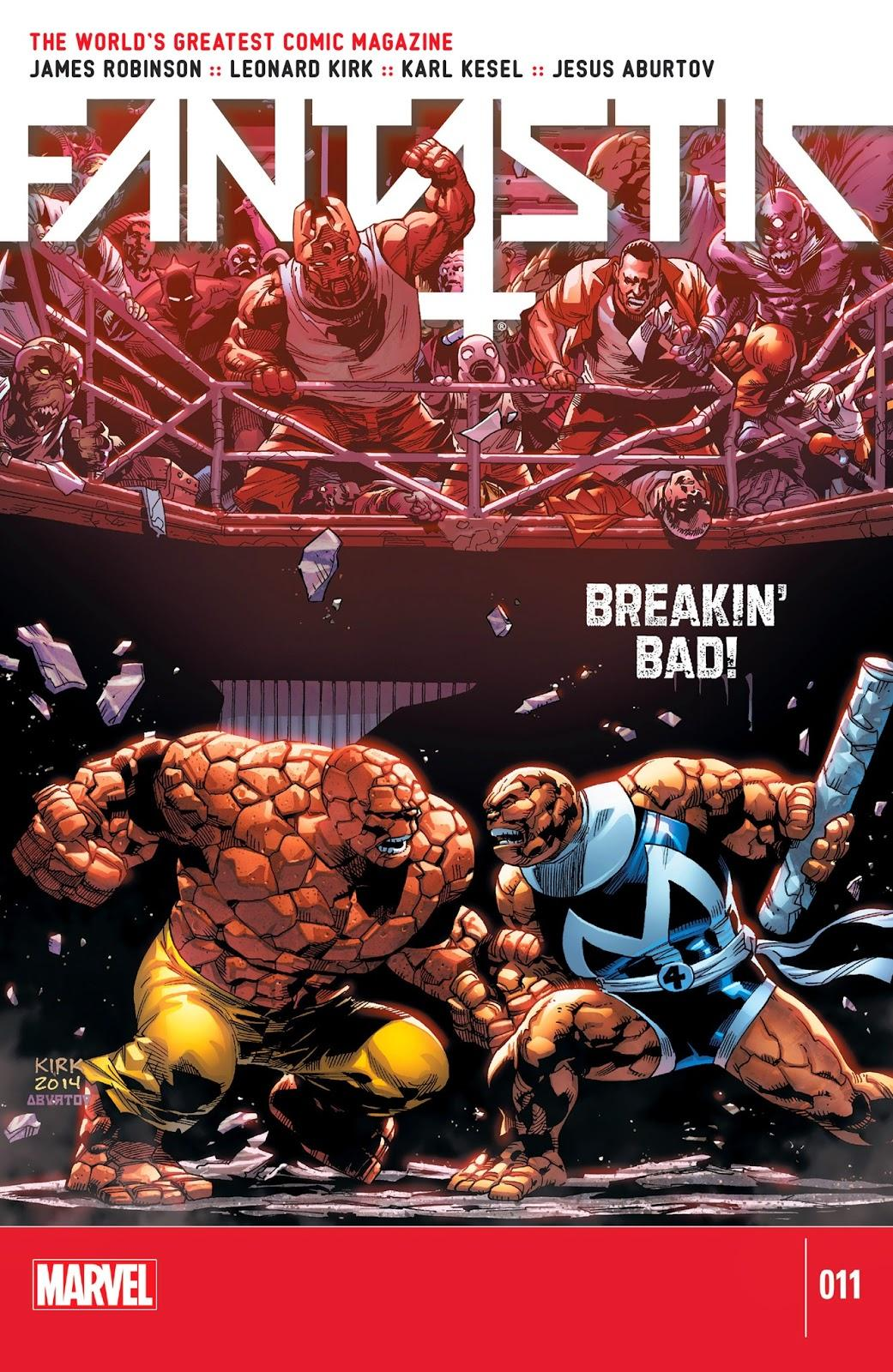 Fantastic Four Vol. 5 #11
