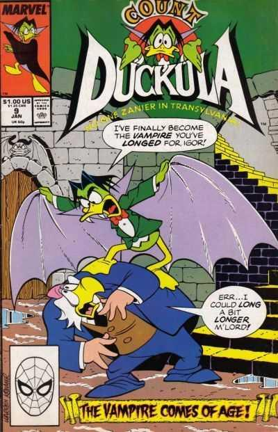 Count Duckula Vol. 1 #9