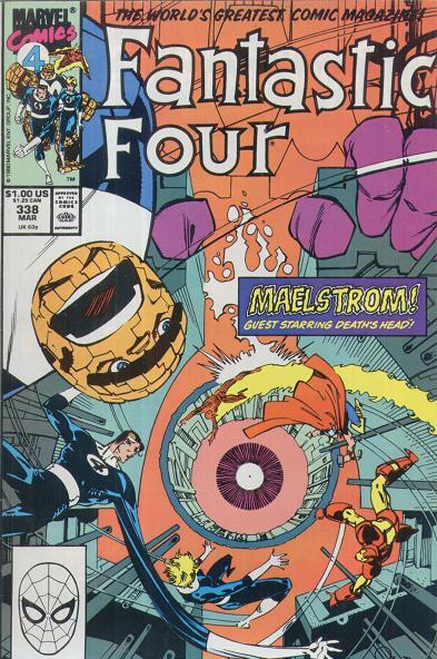 Fantastic Four Vol. 1 #338