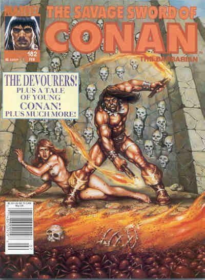 Savage Sword of Conan Vol. 1 #182