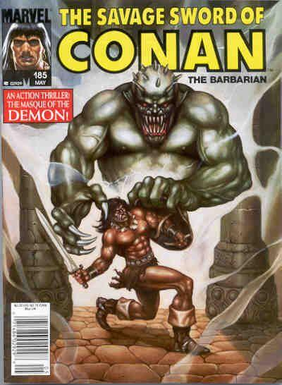 Savage Sword of Conan Vol. 1 #185