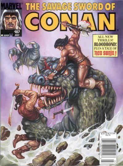 Savage Sword of Conan Vol. 1 #187