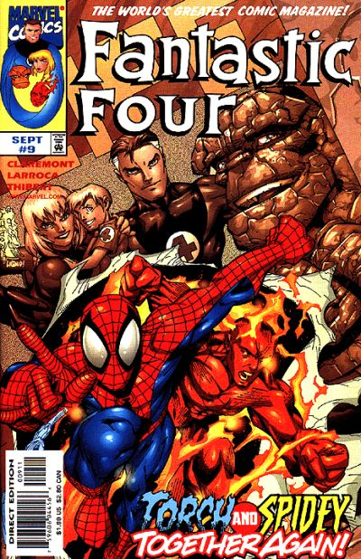 Fantastic Four Vol. 3 #9
