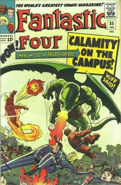 Fantastic Four Vol. 1 #35
