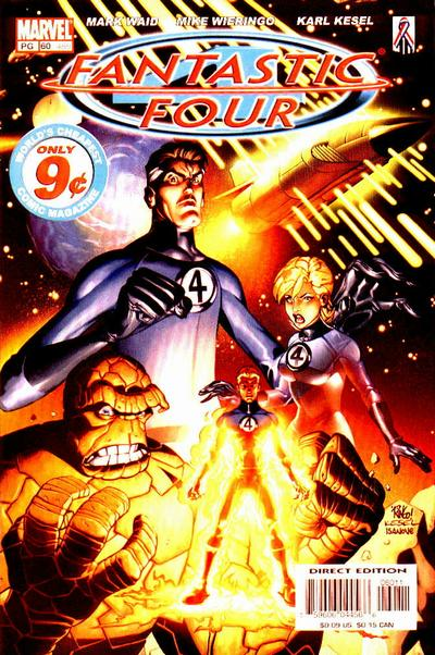 Fantastic Four Vol. 3 #60B