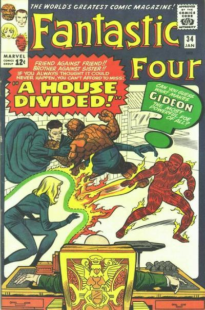Fantastic Four Vol. 1 #34