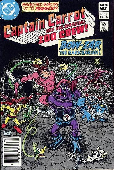 Captain Carrot and His Amazing Zoo Crew Vol. 1 #7