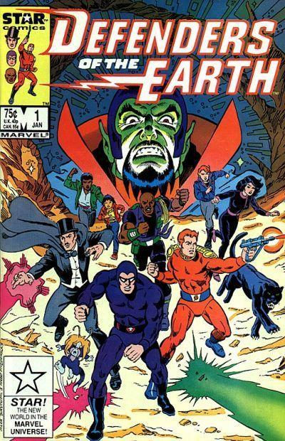 Defenders of the Earth Vol. 1 #1
