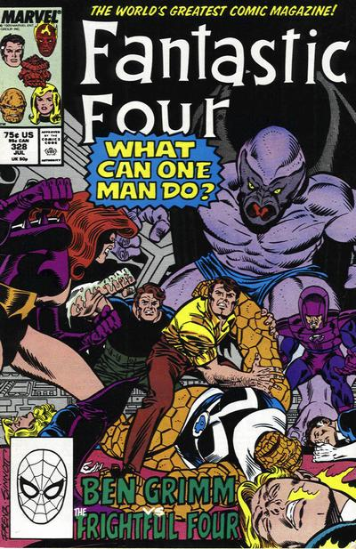 Fantastic Four Vol. 1 #328