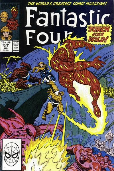 Fantastic Four Vol. 1 #313