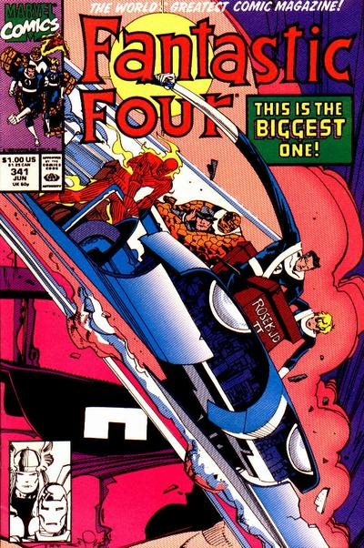 Fantastic Four Vol. 1 #341