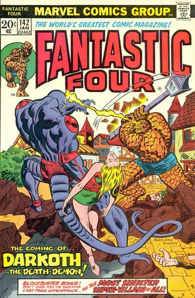 Fantastic Four Vol. 1 #142