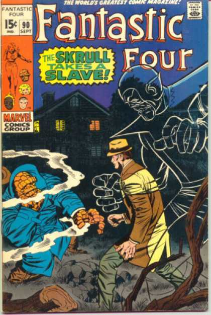 Fantastic Four Vol. 1 #90