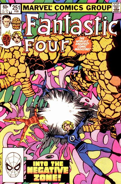 Fantastic Four Vol. 1 #251