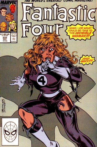 Fantastic Four Vol. 1 #332
