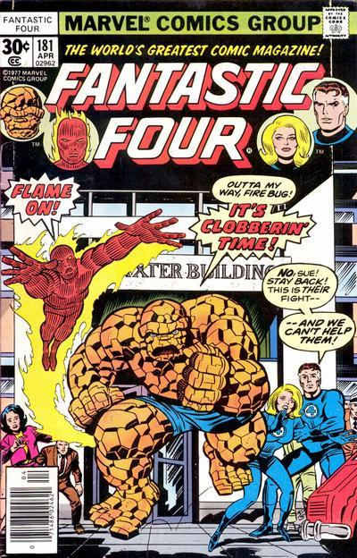 Fantastic Four Vol. 1 #181