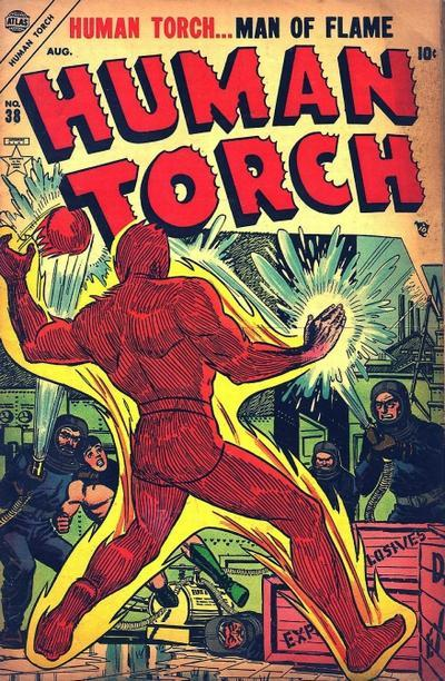 Human Torch Comics Vol. 1 #38