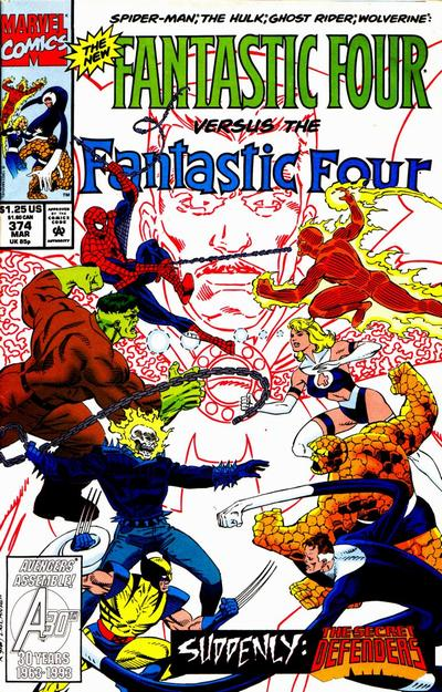 Fantastic Four Vol. 1 #374
