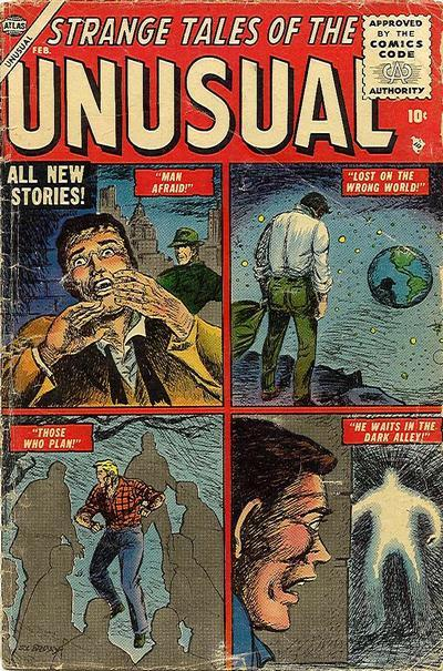 Strange Tales of the Unusual Vol. 1 #2