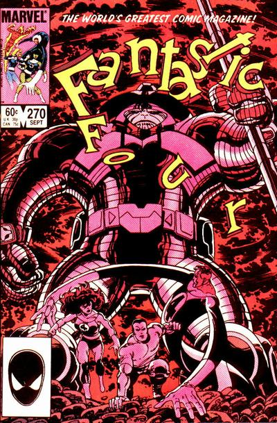 Fantastic Four Vol. 1 #270