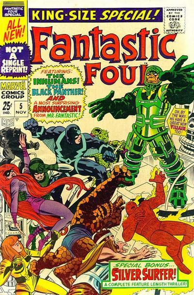 Fantastic Four Vol. 1 #5