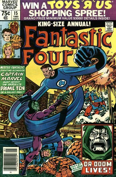 Fantastic Four Vol. 1 #15