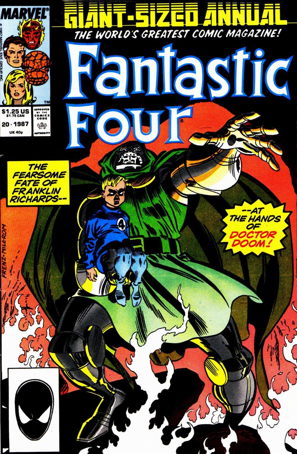 Fantastic Four Vol. 1 #20