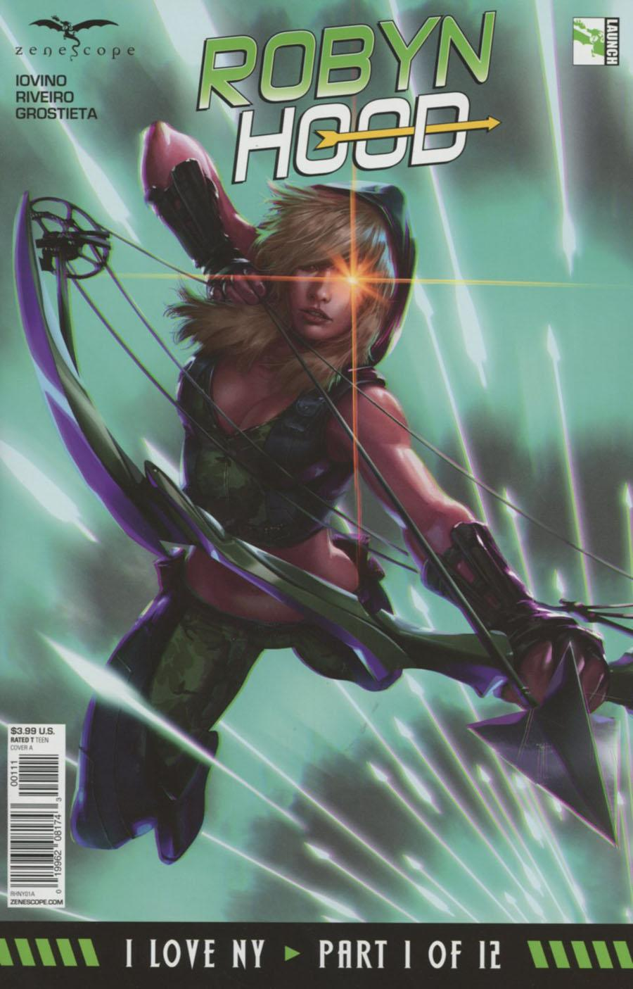 Grimm Fairy Tales Presents Robyn Hood I Love NY Vol. 1 #1