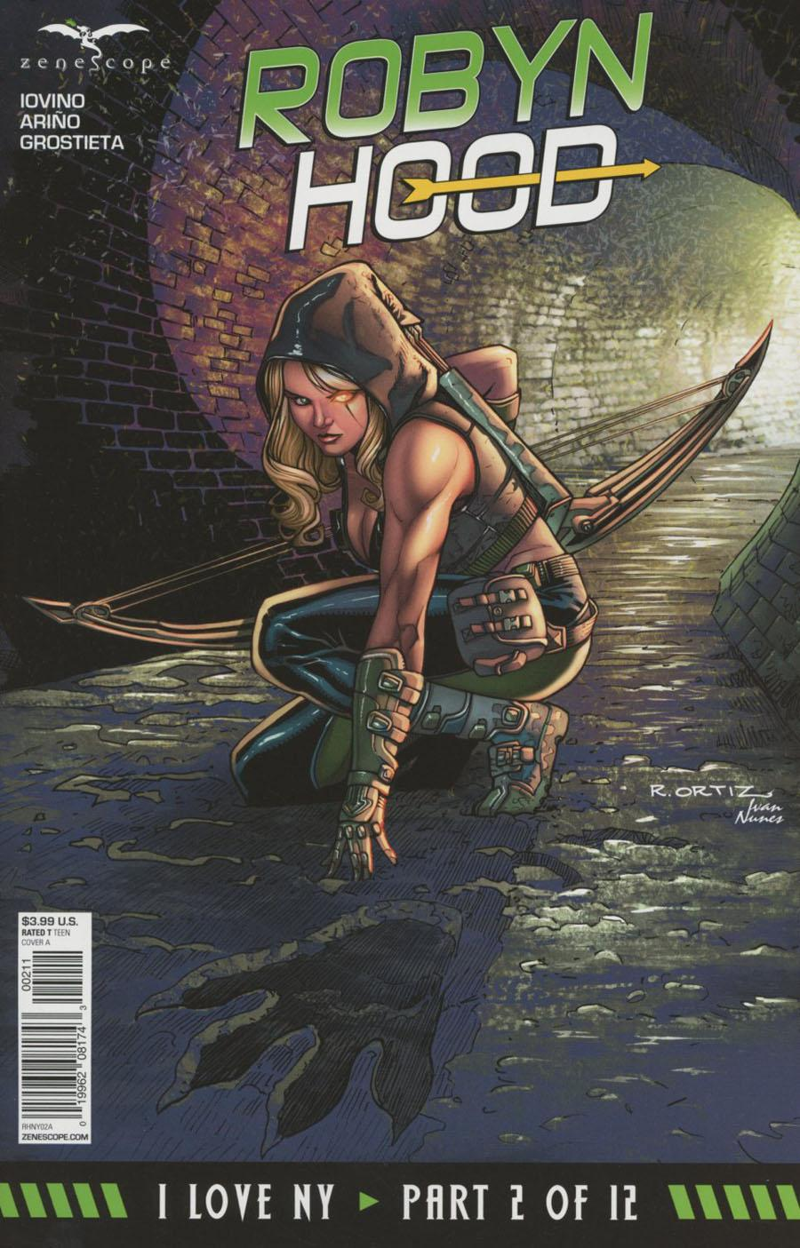 Grimm Fairy Tales Presents Robyn Hood I Love NY Vol. 1 #2