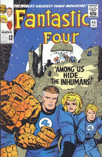 Fantastic Four Vol. 1 #45