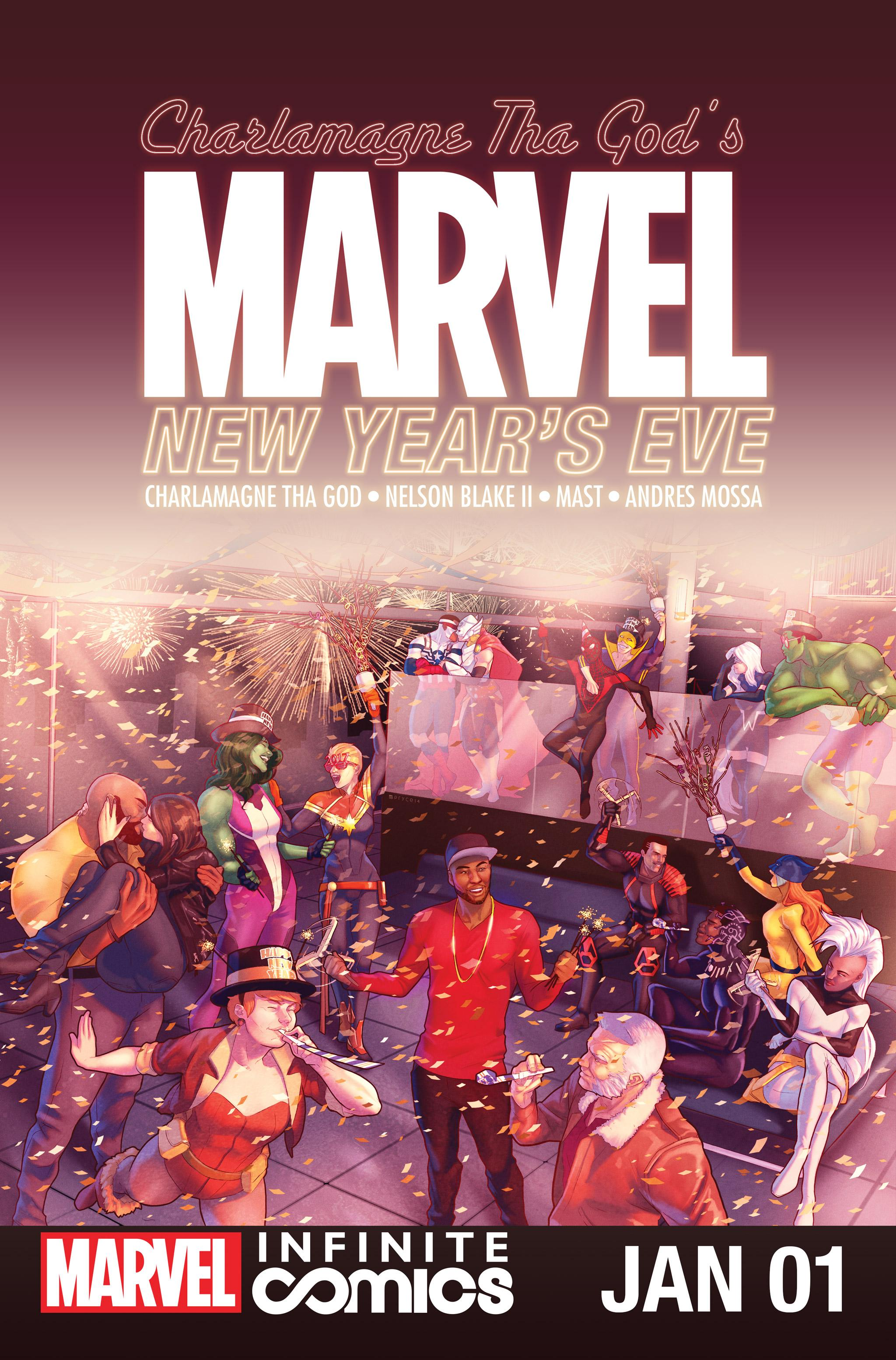 Marvel New Year's Eve Special Infinite Comic Vol. 1 #1