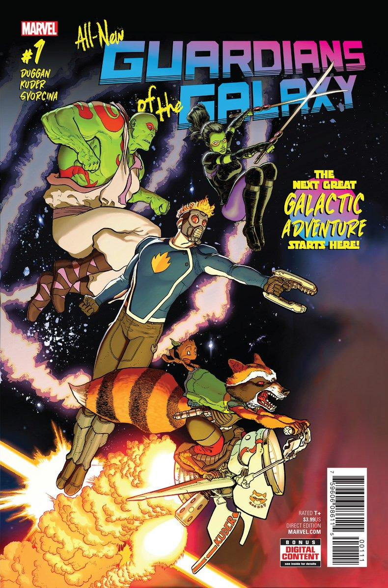 All-New Guardians of the Galaxy Vol. 1 #1