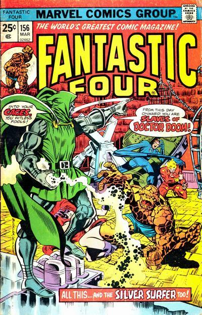 Fantastic Four Vol. 1 #156