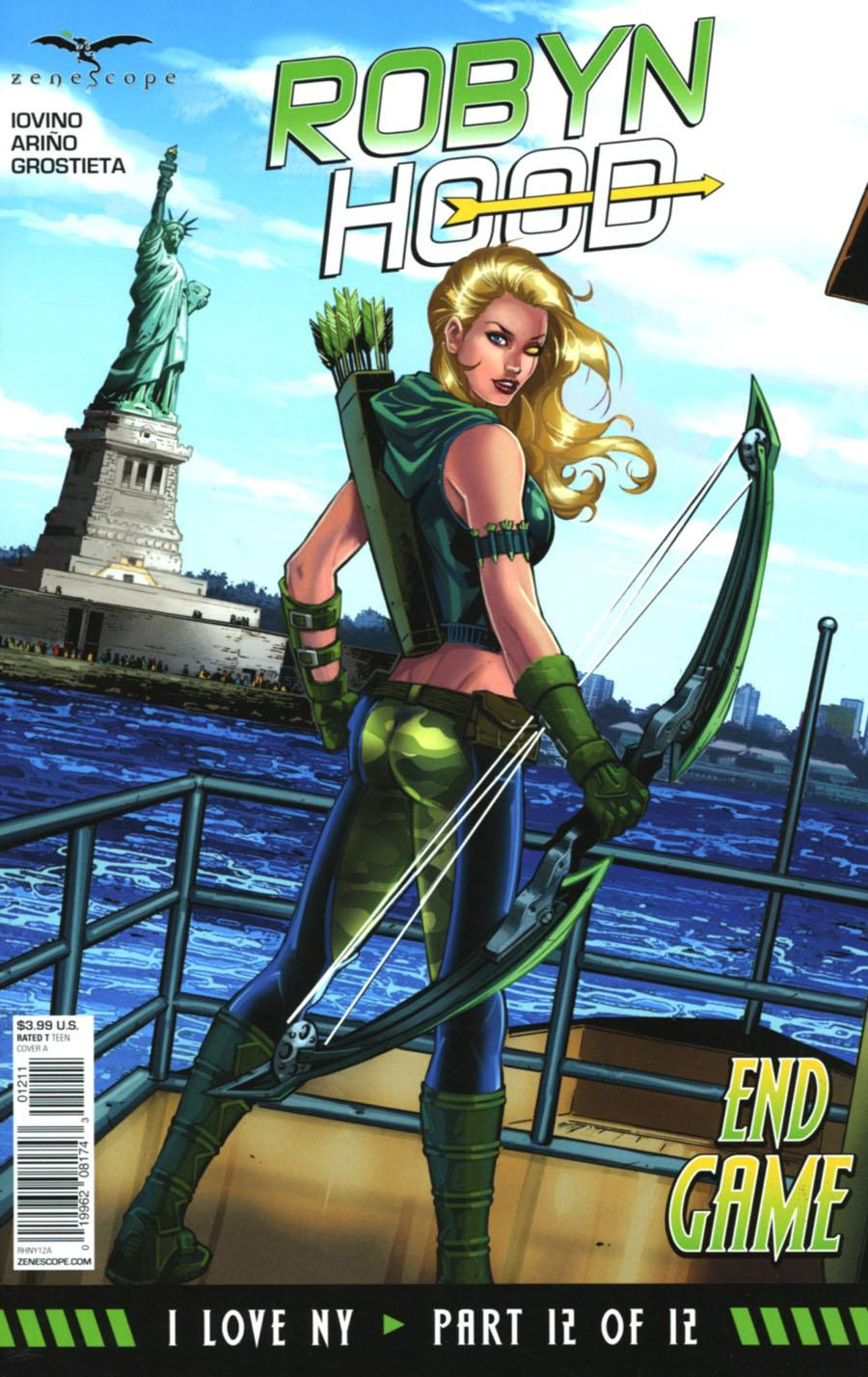 Grimm Fairy Tales Presents Robyn Hood I Love NY Vol. 1 #12