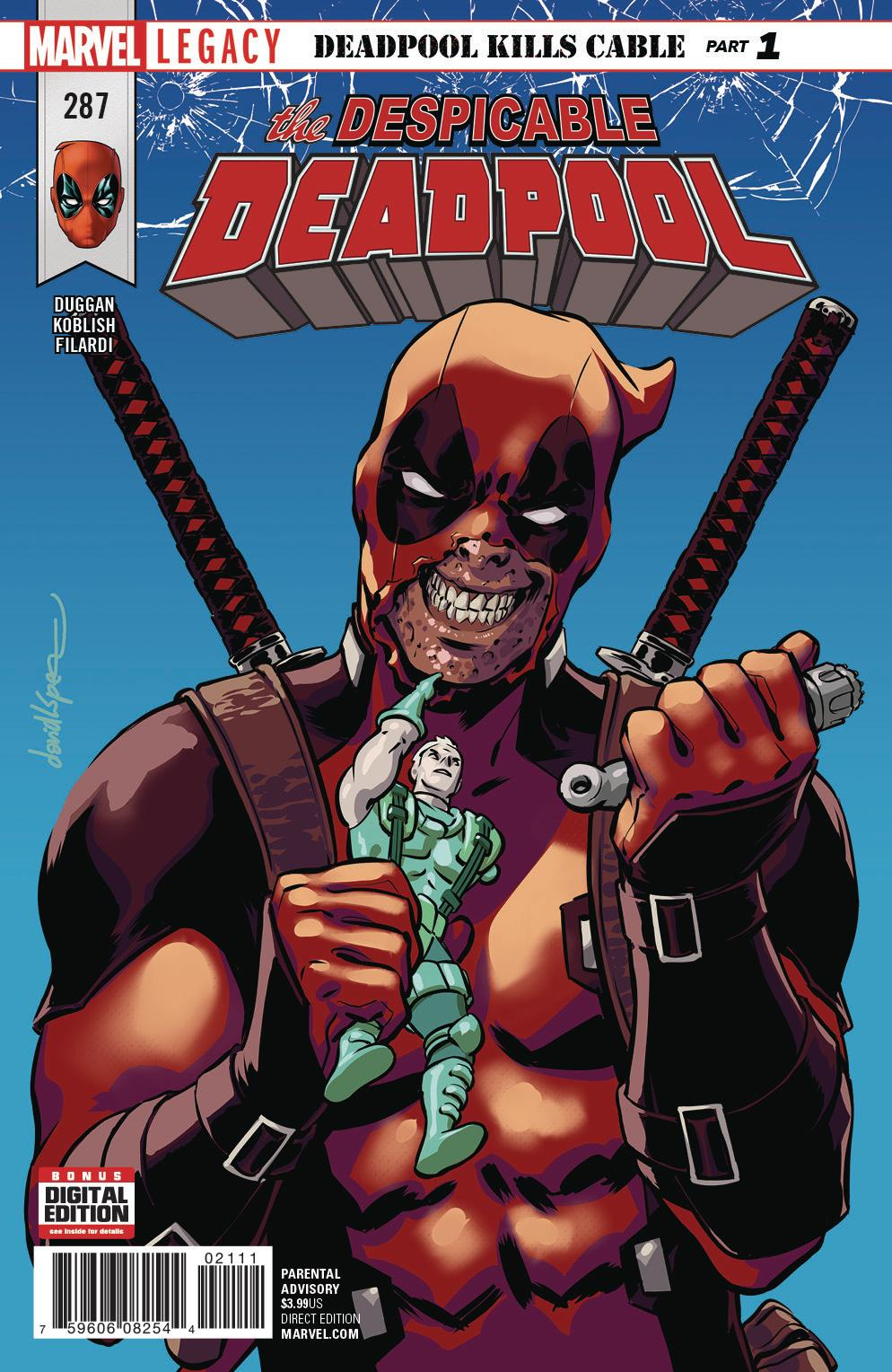 Despicable Deadpool Vol. 1 #287