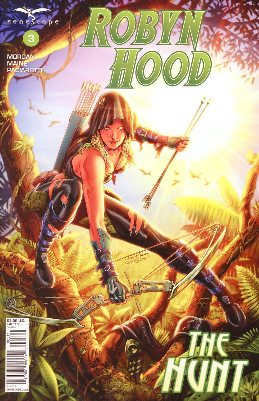 Grimm Fairy Tales Presents Robyn Hood The Hunt Vol. 1 #3