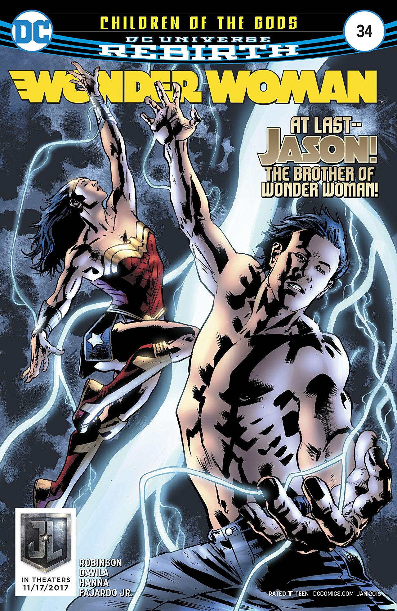 Wonder Woman Vol. 5 #34