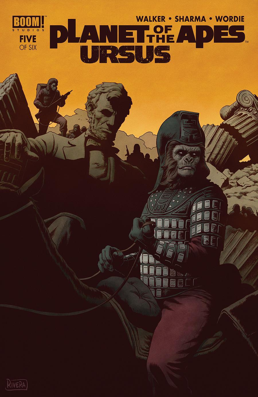 Planet Of The Apes Ursus Vol. 1 #5
