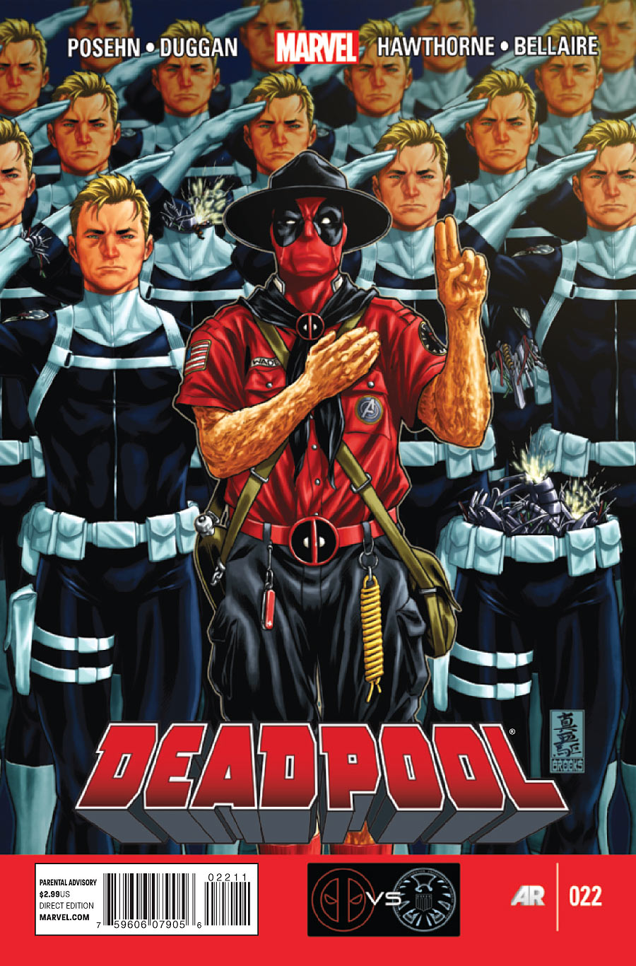 Deadpool Vol. 3 #22