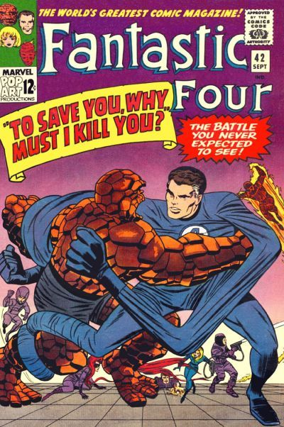 Fantastic Four Vol. 1 #42