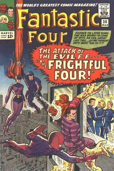 Fantastic Four Vol. 1 #36