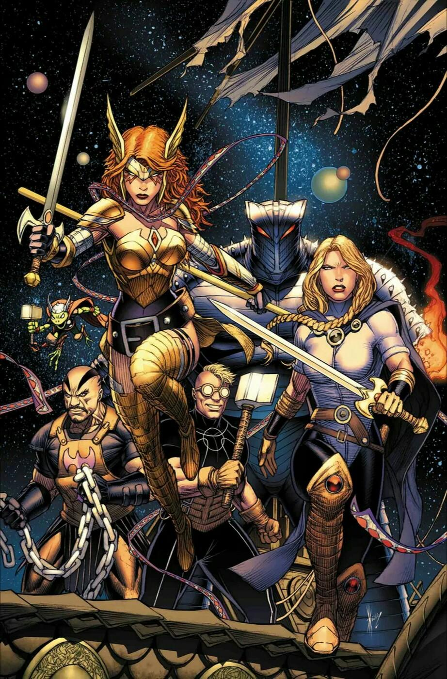 Asgardians of the Galaxy Vol. 1 #1
