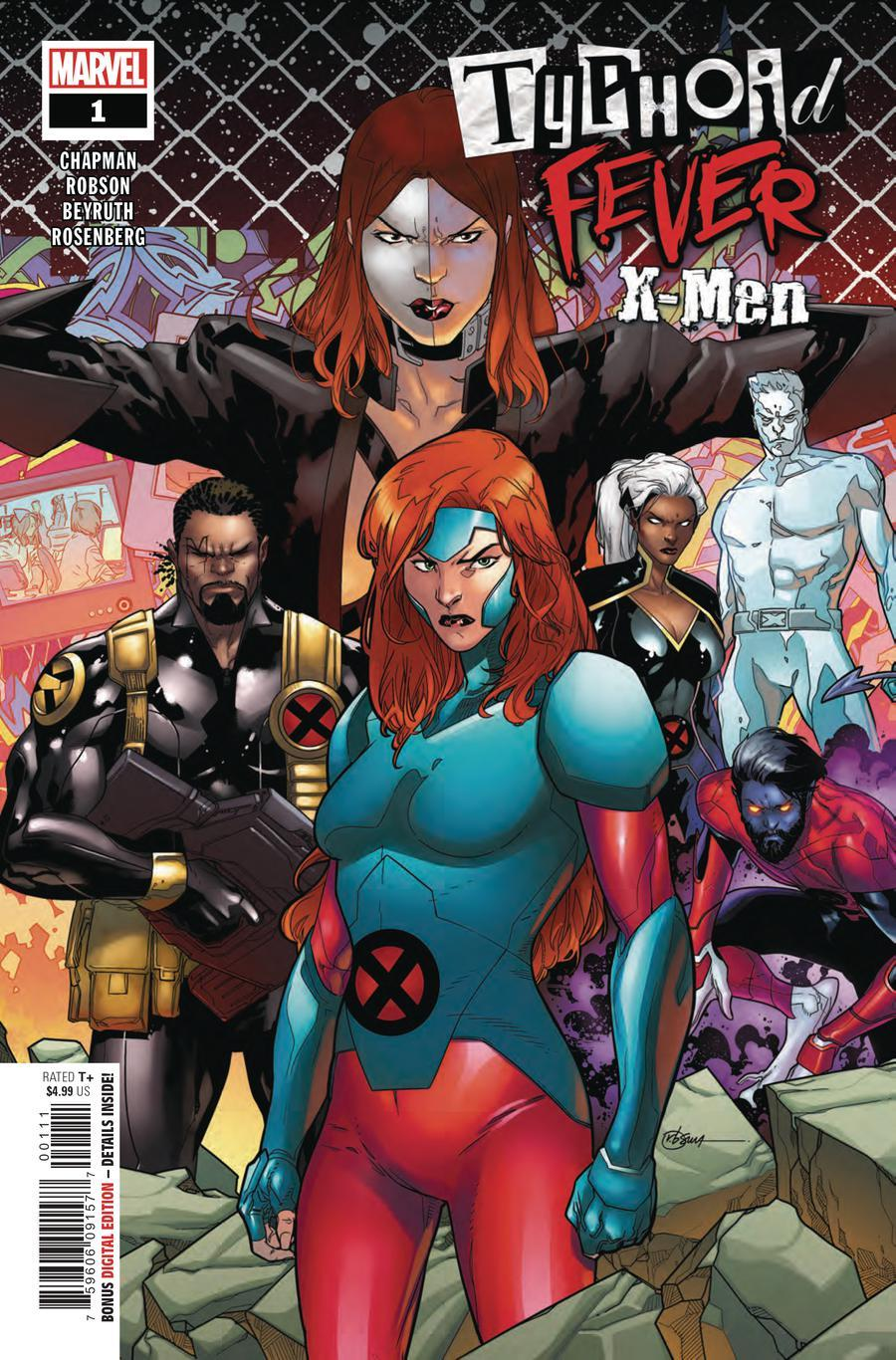 Typhoid Fever X-Men Vol. 1 #1