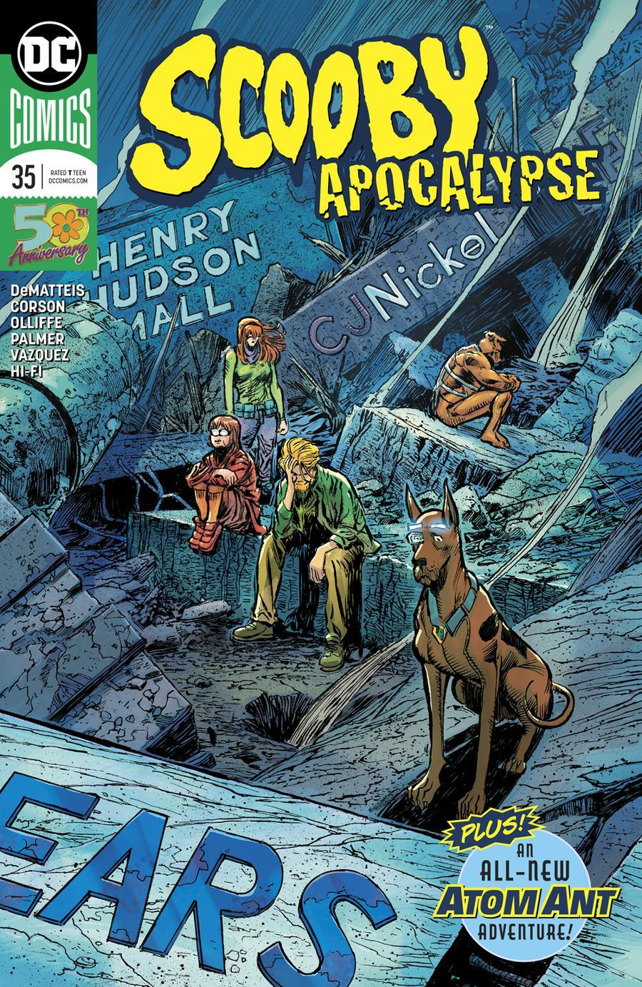 Scooby Apocalypse Vol. 1 #35
