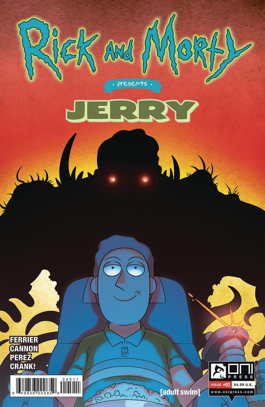 Rick And Morty Presents Jerry Vol. 1 #1