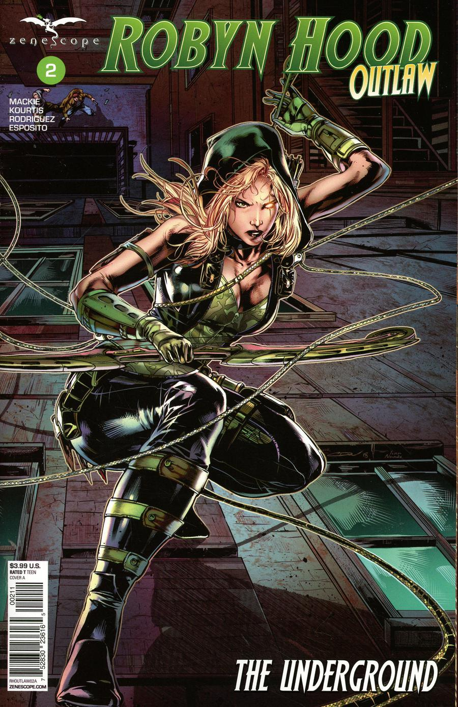 Grimm Fairy Tales Presents Robyn Hood Outlaw Vol. 1 #2