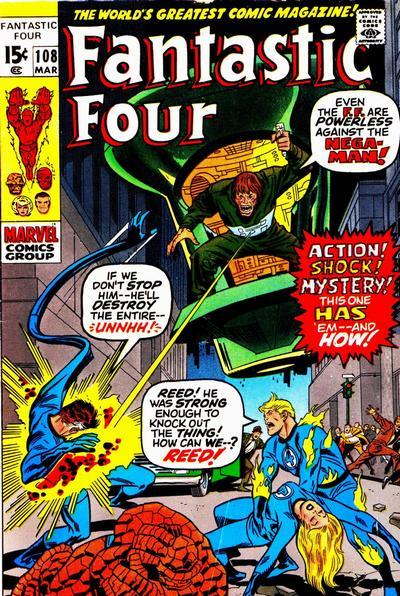 Fantastic Four Vol. 1 #108