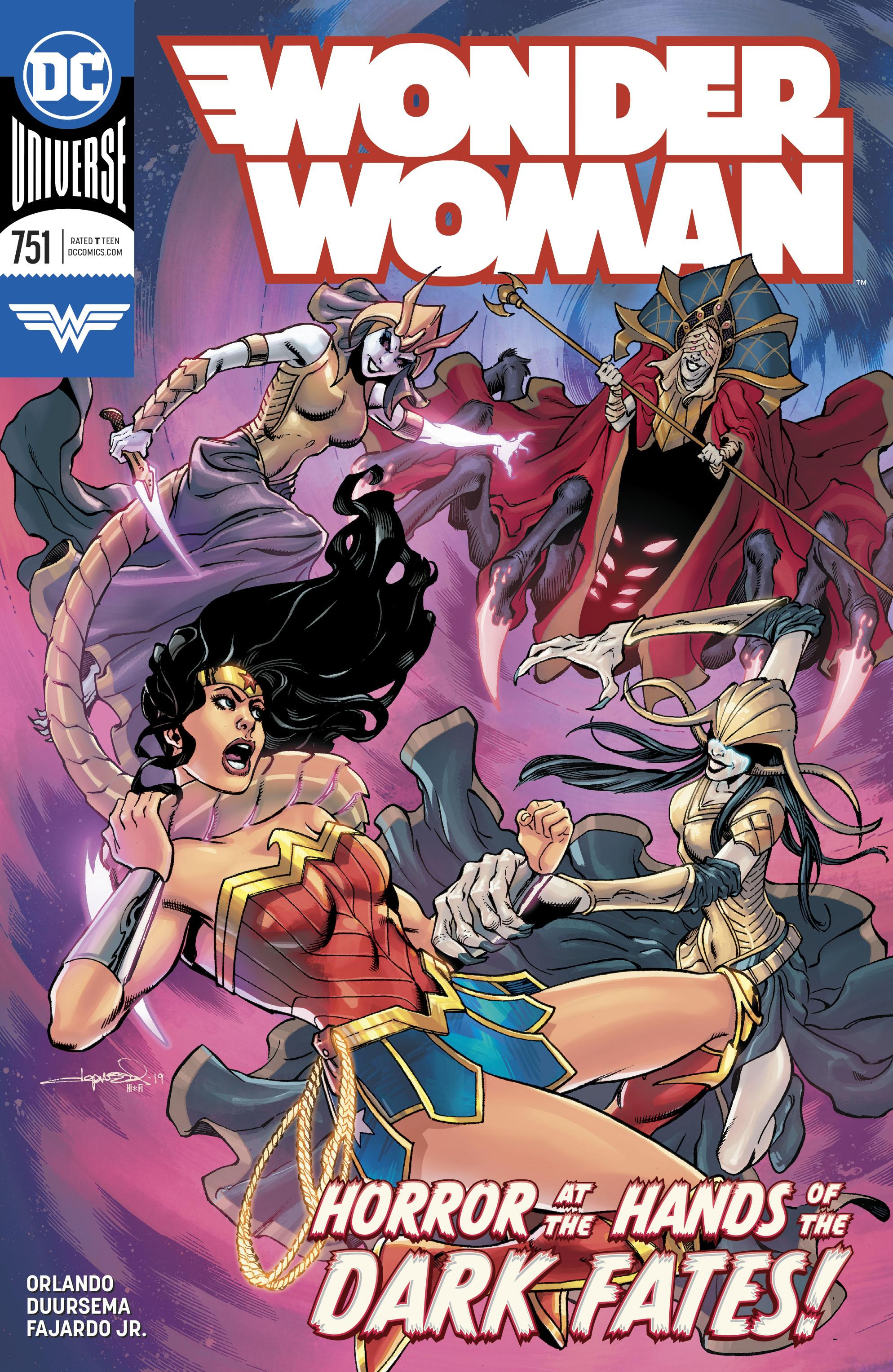 Wonder Woman Vol. 1 #751